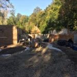 Garages and Outdoor Kitchen