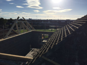 double storey extension